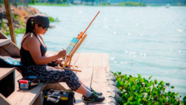 Convocatoria para el Festival de Pintura Aires Libres 2019 en Alta Verapaz