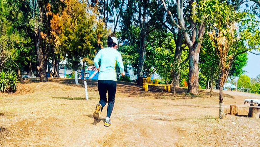 Entreno trail en el Parque Erick Barrondo | Febrero 2019