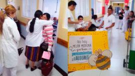 Estudiantes de medicina celebraron el Día del Cariño con pacientes del Hospital Roosevelt 2019