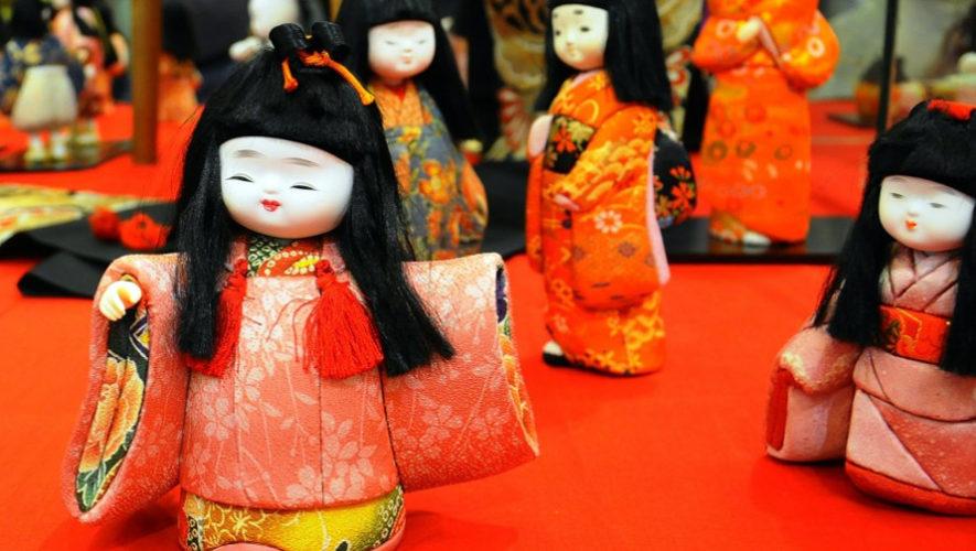 Exposición de muñecas japonesas en Guatemala | Febrero 2019