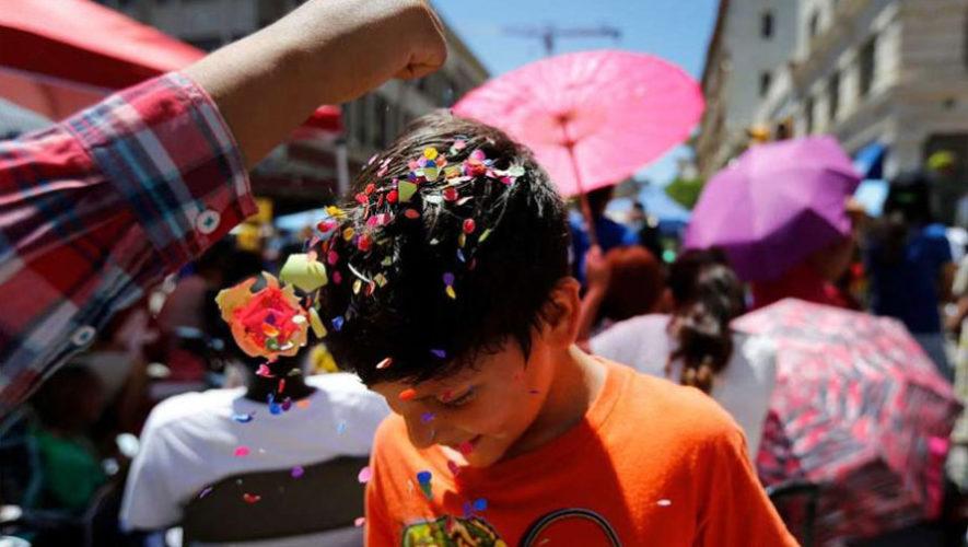 Festival para celebrar carnaval en Guatemala | Marzo 2019