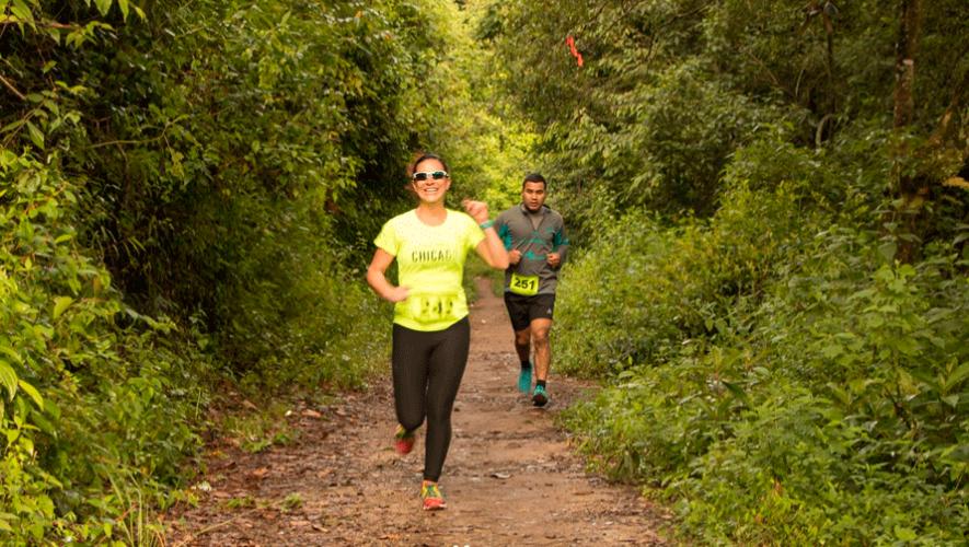 Forest Trail: Carrera de Montaña en Santa Lucía Milpas Altas   Marzo 2019