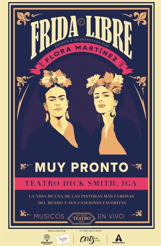 Frida Libre obra de teatro de Frida Kahlo en Guatemala para el 2019