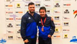 Gersson Mejía ganó el bronce del Mundial de Parataekwondo 2019