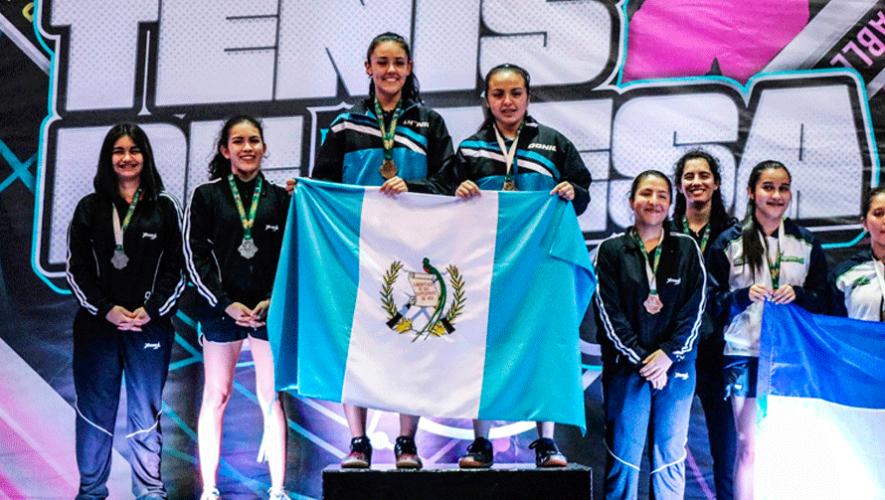 Guatemala conquistó 13 medallas en el Campeonato Centroamericano Infantil y Juvenil 2019