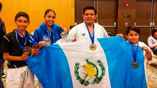 Guatemala, ganadora del Campeonato Panamericano WKC 2019