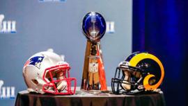 Hora y canales para ver en vivo Rams vs. Patriots por el Super Bowl LIII 2019 en Guatemala