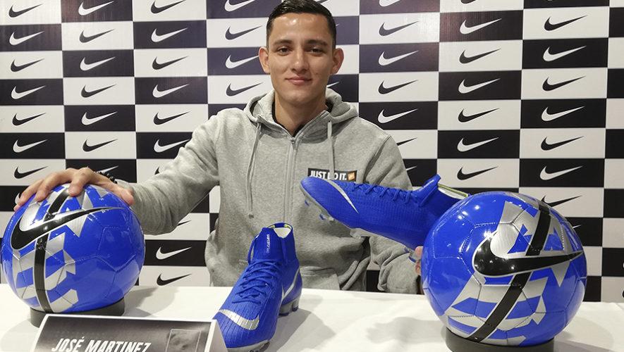 José Martínez será patrocinado por Nike