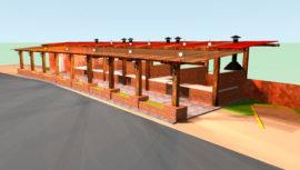 La Plaza del Chicharrón que se construirá en Mixco