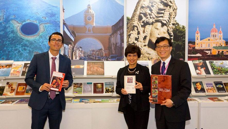 Libros guatemaltecos forman parte de la Exposición Internacional de Libros de Taipéi 2019