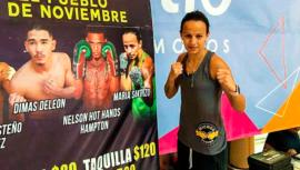 Maria Micheo tendrá su segunda pelea profesional en México
