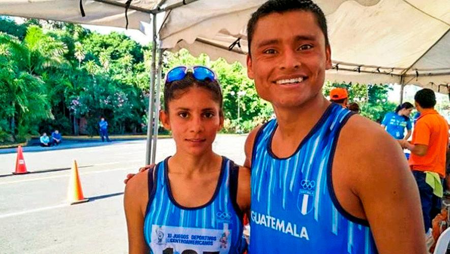 Mirna Ortiz y Erick Barrondo triunfaron en el Campeonato Centroamericano de Marcha 2019