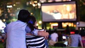Noche romántica de cine al aire libre | Febrero 2019