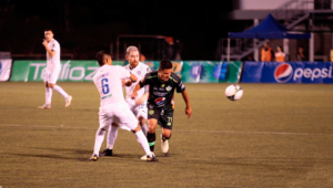 Partido de Comunicaciones y Antigua por el Torneo Clausura   Febrero 2019