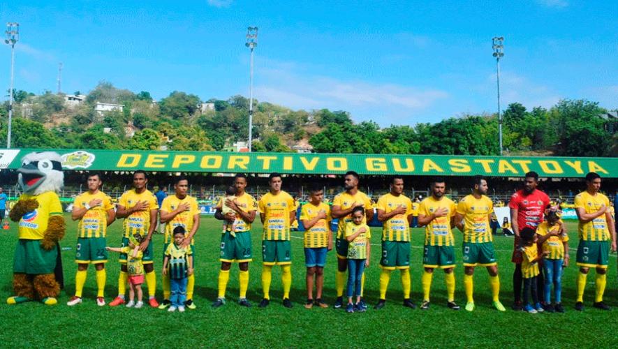Partido de Guastatoya y Comunicaciones por el Torneo Clausura | Febrero 2019