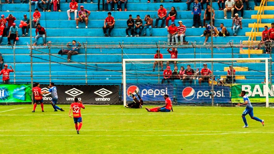 Partido de Municipal e Iztapa por el Torneo Clausura | Febrero 2019