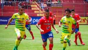 Partido de Municipal y Guastatoya por el Torneo Clausura   Febrero 2019