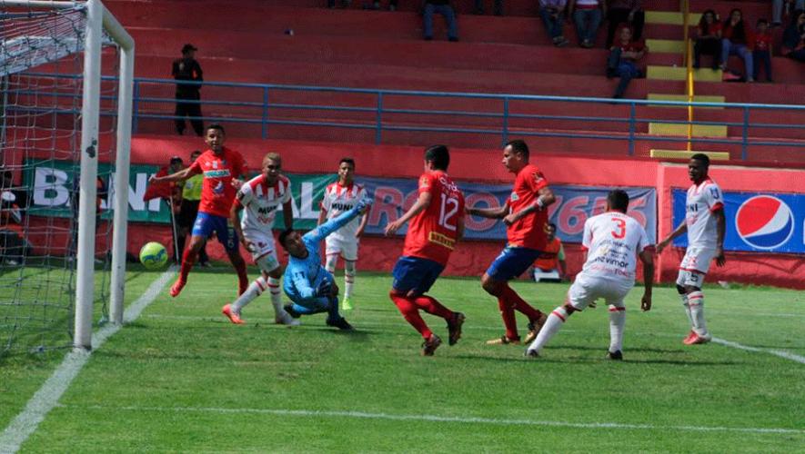 Partido de Municipal y Malacateco por el Torneo Clausura | Marzo 2019