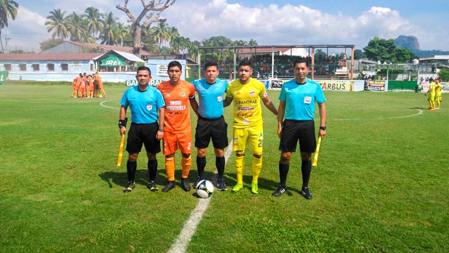 Partido de Siquinalá y Cobán por el Torneo Clausura | Febrero 2019