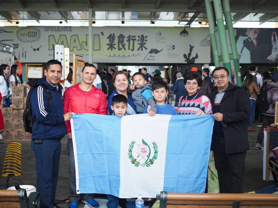Platillos guatemaltecos en el Carnaval de Taipéi