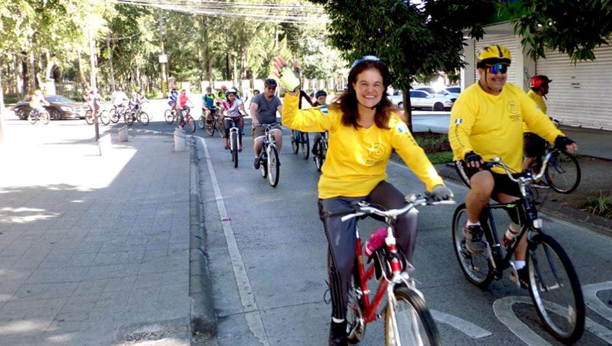Recorrido gratuito en bicicleta por el Parque Morazán | Febrero 2019