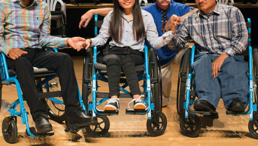 Regalarán sillas de ruedas a guatemaltecos de escasos recursos