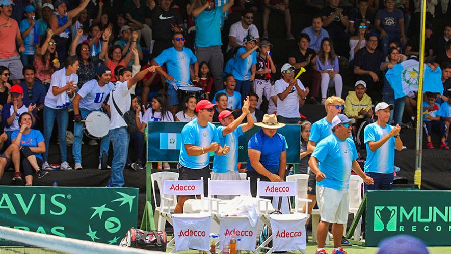 Rivales de Guatemala para la Copa Davis y Fed Cup 2019