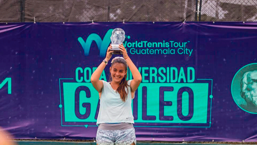 Rut Galindo brilló con doble título en la Copa Universidad Galileo 2019