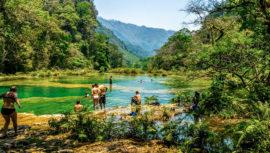 Semuy Champey es un paraíso turquesa con piscinas naturales, según Atlas Obscura