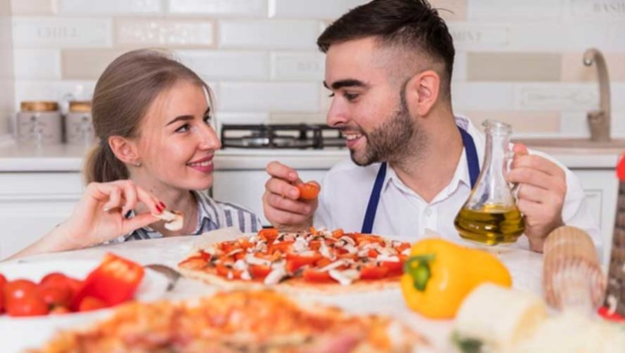 Taller de pizza para parejas en el Día del Cariño | Febrero 2019