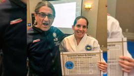Thelma Ayala, única árbitro centroamericana en el Mundial de Taekwondo 2019