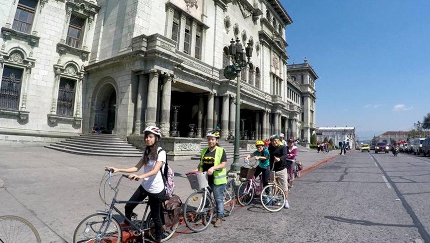 Tour en bicicleta por museos de la Ciudad de Guatemala | Febrero 2019