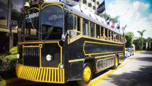 Tour gastronómico de comida francesa en trolley bus   Marzo 2019