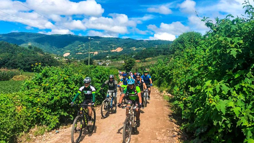 Travesía en bicicleta en Tecpán | Marzo 2019