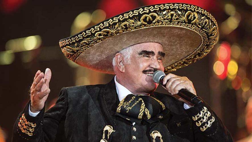 Homenaje a Vicente Fernández con mariachi en vivo | Febrero 2019
