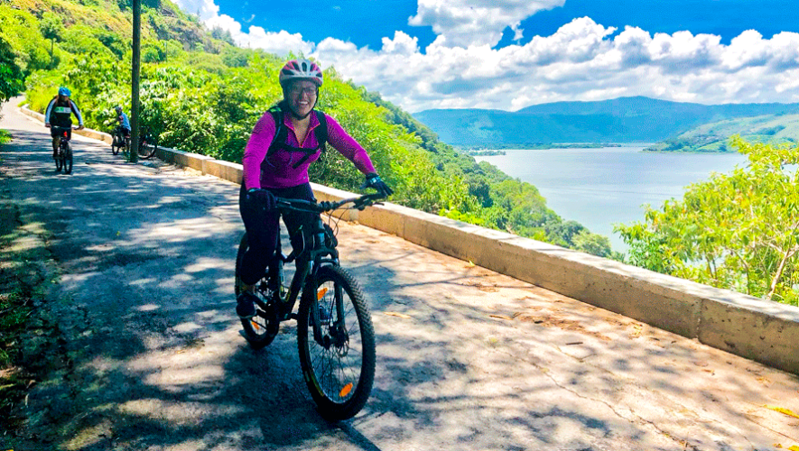 Vuelta al Lago de Amatitlán en bicicleta | Febrero 2019