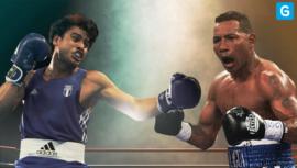 Fecha de la primera pelea profesional de Lester Martínez
