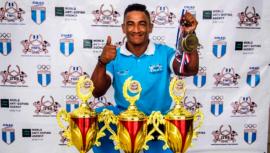 Sergio Reyes ganó doble oro en la IFBB Classic Physique of America Cup 2019