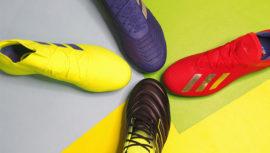 Adidas lanzó nueva línea de zapatillas de fútbol Exhibit Pack en Guatemala