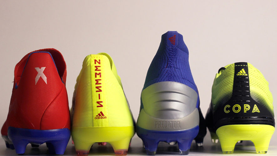 Lanzó Nueva Adidas De Exhibit En Línea Zapatillas Pack Fútbol Ov8nw0ymN