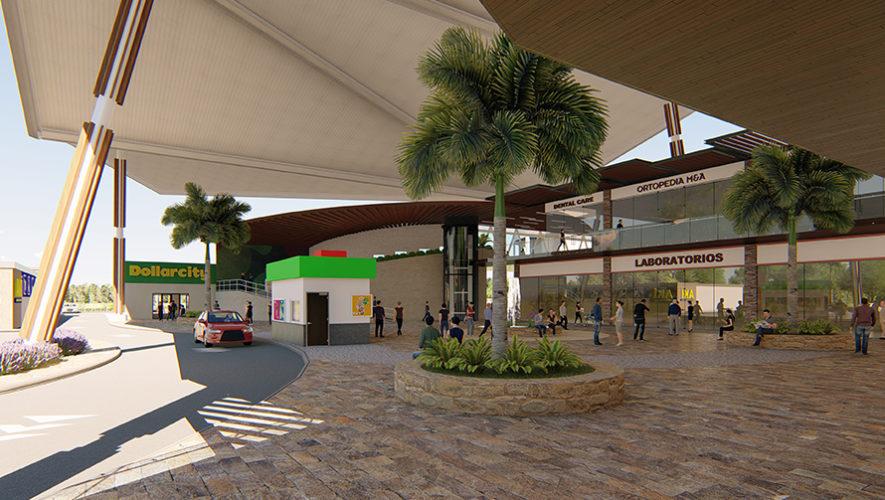 Ampliarán Centro Comercial La Trinidad en Coatepeque