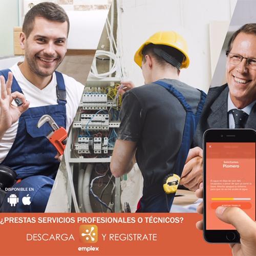 Aplicación Emplex para dar a conocer tu servicio o negocio en Guatemala