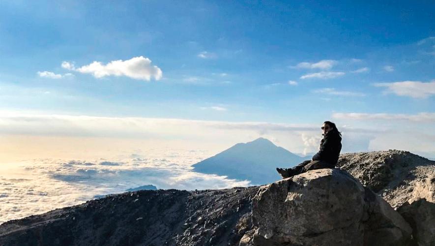 Ascenso al volcán Tajumulco por la ruta turística   Marzo 2019
