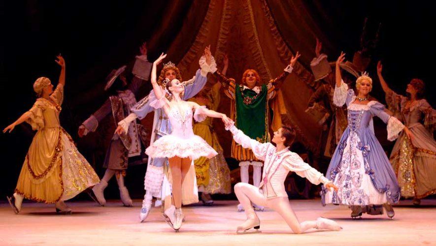 Presentación del ballet clásico de Moscú sobre hielo   Abril 2019