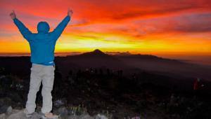 Campamento en el volcán Tacaná | Marzo 2019