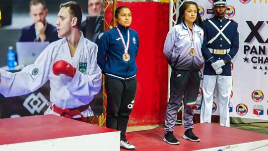 Cheili González ganó bronce en el XXXIII Campeonato Panamericano 2019