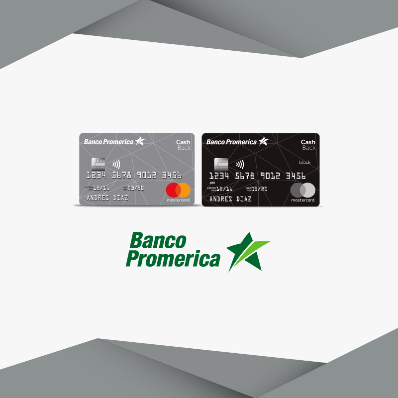 Cómo solicitar tuCash Back Promerica Mastercard