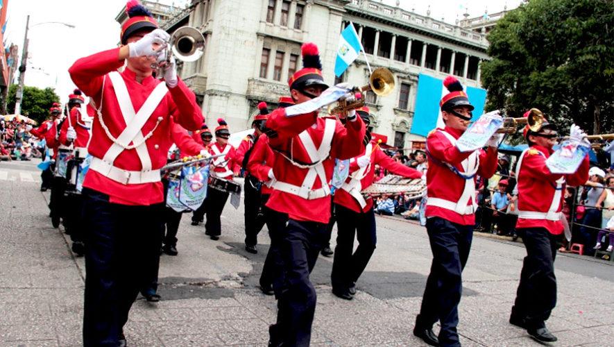 Desfile de bandas por las calles del Centro Histórico | Marzo 2019
