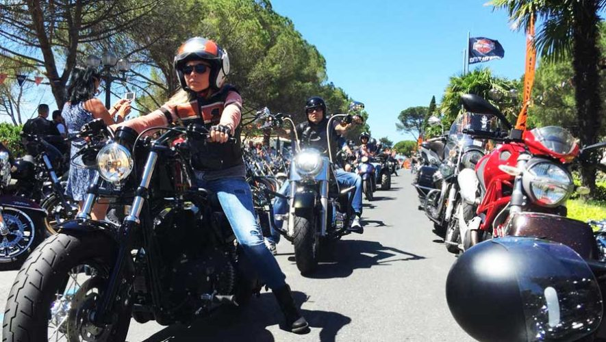 Exhibición de motocicletas Harley Davidson en Guatemala   Marzo 2019