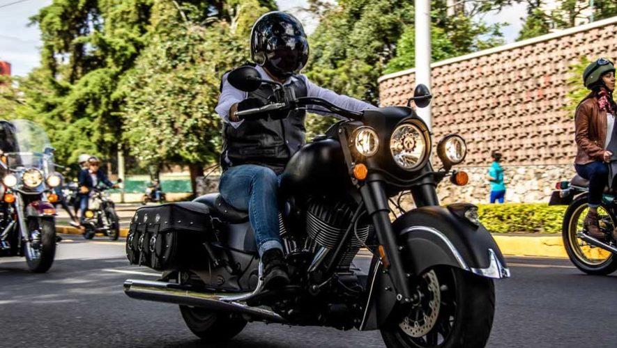 Exhibición de motos clásicas en Zona 10 | Marzo 2019